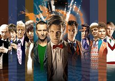 The Eleven Doctors © BBC/BFI