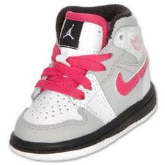 pink baby jordans - cant wait to get her a pair of jordans!!!!!