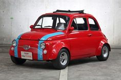 Fiat 500, Fiat Cars, Fiat Abarth, Cute Cars, Small Cars, Rally Car, Car Brands, Steyr, Old Cars