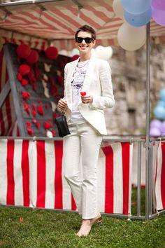 Anne Hathaway at Stella McCartney's Resort 2013 Carnival