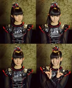 Queen of metal. Nakamoto Suzuka-san