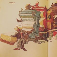 Another Aldren Watson illustration from Where Everyday Things Come From (1974) just because #books by tinyaviary