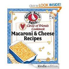 Circle of Friends Cookbook - 25 Mac & Cheese Recipes [Kindle Edition], (kindle freebie, cookbook, cooking, easy recipes, gooseberry patch, comfort food, kindle, mac and cheese, recipe book, christian fiction), via https://myamzn.heroku.com/go/B004FV4TSO/Circle-of-Friends-Cookbook-25-Mac-Cheese-Recipes-Kindle-Edition