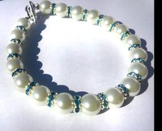 Pearl Bracelet  accessories  gift for her  bridal by DameCreation  #HEPTEAM #shophandmade #etsy # #HEPTEAM #shophandmade #etsy #accessories #etsymarket #etsymarketplace #fabulousetsyfinds #etsytreasuries&collections