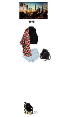 Red Hot Chili Peppers - The Adventures of Rain Dance Maggie by doraszucs on Polyvore featuring Boohoo, Talula, Levi's, Jeffrey Campbell, Chanel and Ray-Ban