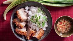 Pečený bůček s křupavou kůrčičkou  Foto: Bucky, Grains, Rice, Meat, Chicken, Food, Essen, Meals, Seeds