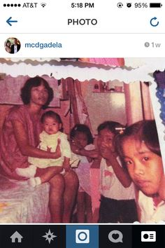 10. Our younger years with Mama