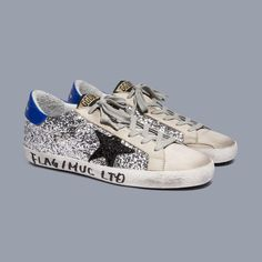"""0944b19bc4d Golden Goose Deluxe Brand on Instagram  """"FLAG   MUC LTD Superstar  our  grungy take on glamour"""