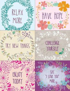 Free Inspirational Printables for your planner, scrapbook or craft projects Printable Quotes, Printable Planner, Planner Stickers, Free Printables, Freebies Printable, Life Planner, Happy Planner, Planners, Journal Cards