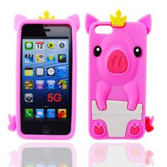 Princess iPhone 5 Case Pink, $14, now featured on Fab.