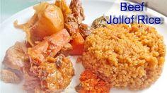 Meat Jollof Rice