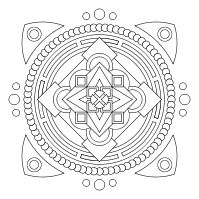 Print and color mandalas online and a designer so you can create your own mandala