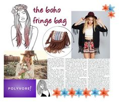 """""""boho fringe"""" by kit-kat-1987 ❤ liked on Polyvore featuring Mudd, Vanessa Mooney, women's clothing, women's fashion, women, female, woman, misses, juniors and contestentry"""