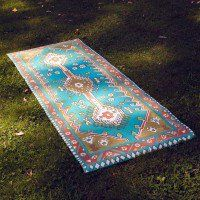 Take a ride on this magic carpet yoga mat - www.preserve.us
