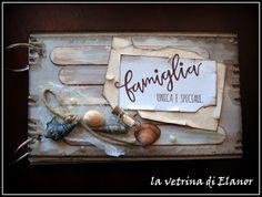 """la vetrina di Elanor: mini album """"message in a bottle"""""""