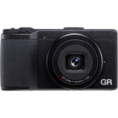 Ricoh GR II Negro cámara digital