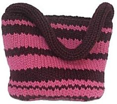 Loom Knitting Projects   Free Loom Pattern kb-UptownTote Loom-Knit Uptown Tote Bag : Lion Brand ...