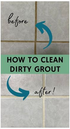 Tile Grout Cleaner, Clean Tile Grout, Bathroom Tile Cleaner, Shower Cleaner, How To Clean Tiles, Grouting Tile, Diy Home Cleaning, Household Cleaning Tips, House Cleaning Tips