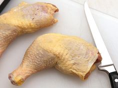 How to debone a chicken thigh