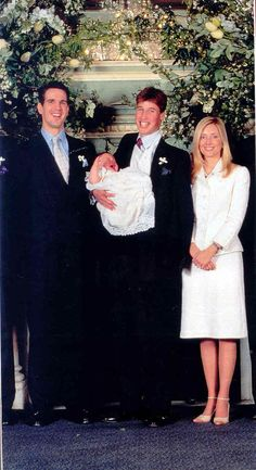 1999. Prince William became godfather to Prince Konstantine Alexios of Greece, the infant son of Crown Prince and Princess Pavlos
