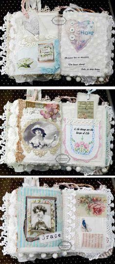 Beautiful Women, Beautiful Quotes Fabric Book
