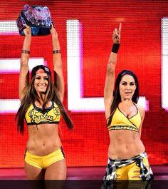 I love the Bella Twins ❤️❤️I am so happy that Nikki Bella is the divas champion she deserves to be the divas champion so does Brie they both deserve to be the divas champion #the Bella Twins ❤️❤️❤️