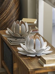 LOTUS - Photophore click now for info. Hand Built Pottery, Slab Pottery, Ceramic Pottery, Pottery Art, Thrown Pottery, Ceramics Projects, Clay Projects, Paper Clay, Clay Art