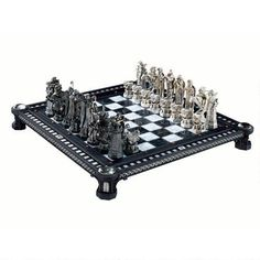Harry Potter Final Challenge Chess Set by Noble Collection  This chess set is an astonishing recreation of the 'Final Challenge' chess set as seen in the movie Harry Potter and the Sorcerer's Stone. $395.95