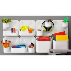 Urbio Magnetic Modular System Components   The Container Store