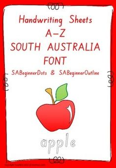 how to teach south australian handwritin