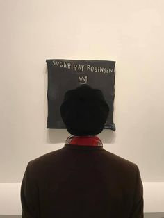 BTS's V (Taehyung) with the rest of BTS at Louis Vuitton Foundation (an art museum) in Paris, France Bts Taehyung, Jimin, Bts Bangtan Boy, Namjoon, Daegu, K Pop, Fondation Louis Vuitton, Jean Michel Basquiat, Andy Warhol