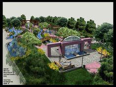 #landarch #peymim Park at Van 4 Tunctan Peyzaj2 by bearsign.deviantart.com