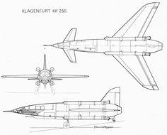 "The Klagenfurt Klf-255 prototype was a funny April Fools Day joke of the ""Fana de l'Aviation"" magazine, issue #43. 1973"
