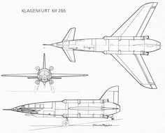 "The Klagenfurt Klf-255 prototype was a funny April Fools Day joke of the ""Fana de l'Aviation"" magazine, issue #43. 1973"