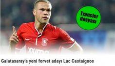 Galatasaray forvet adayı Luc Castaignos ile ilgilenmeye başladı