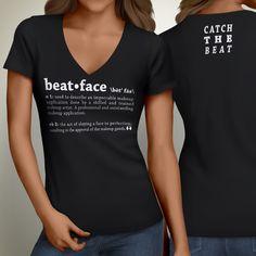 beat • face Girls V-Neck