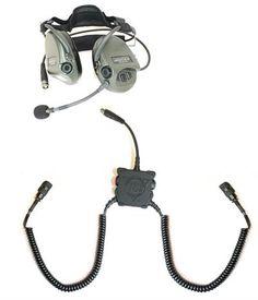 Liberator III Lite Dual-Comm Tactical Headset System