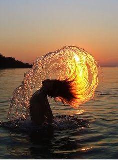 Todos tenemos ese lado positivo que te pone ah pensar, que si el agua no esta no vivimos!!!