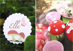 REAL PARTIES: Woodland Fairy Birthday