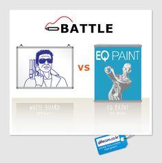 어디든 자유로운 형태로 칠하면 화이트보드가 되는 EQ페인트 구매하기: www.glifeshop.co.kr
