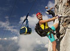 20 via ferrata hegymászóút vár a Dachstein régióban Climbing, Mountains, Bouldering, Tourism, Paradise, Mountaineering, Hiking, Bergen, Rock Climbing