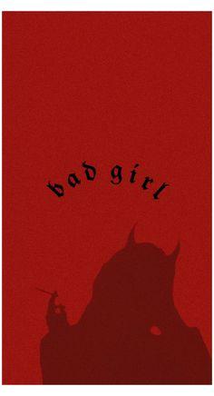 bad girl aesthetic wallpaper red