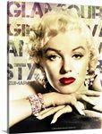 Marilyn Monroe Glamour Hands