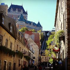 Set on the banks of the Saint Lawrence River, Quebec may be one of the oldest cities in North America but the appeal of this French capital never gets old. Photo courtesy of seetheworldjournal on Instagram.