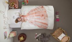 Princess kids' duvet set | Snurk Bedding