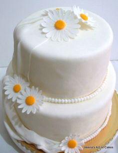 Veena's Art of Cakes Daisy Cake