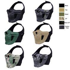Tactical Skull Mask-Product Center-Sunnysoutdoor Co. Airsoft Mask, Respirator Mask, Tactical Clothing, Tactical Gear, Virago Cafe Racer, Arte Fashion, Martial Arts Weapons, Skull Mask, Masks Art