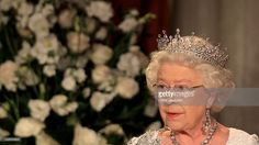 Queen Elizabeth II gives a speech during a dinner at the Royal York Hotel on July 5, 2010 in Toronto, Canada. The Queen and Duke of Edinburgh are on an eight day tour of Canada starting in Halifax and finishing in Toronto. The trip is to celebrate the centenary of the Canadian Navy and to mark Canada Day. On July 6th, the royal couple will make their way to New York where the Queen will address the UN and visit Ground Zero.  (Photo by Chris Jackson/Getty Images)