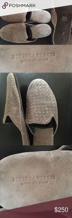 outlet top quality Bottega Veneta Intrecciato Suede Slippers clearance big sale buy cheap low price fee shipping yS0KL5g6
