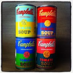 L.E. Andy Warhol Campbell's Soup Cans.